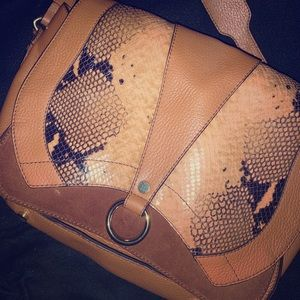 Lacucci Italian leather shoulder bag